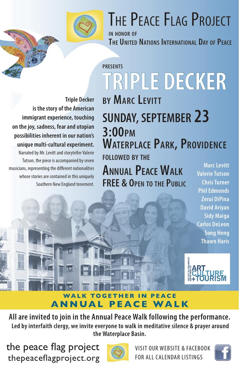 2018 Triple Decker poster