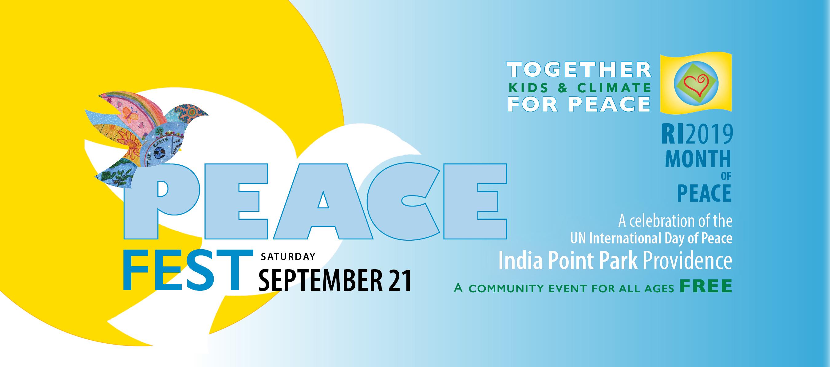 PeaceFest 2019 FBbanner