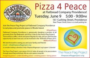 Pizza4Peace flyer
